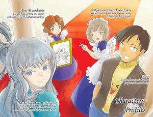 Vol. 1 Character Profile Insert