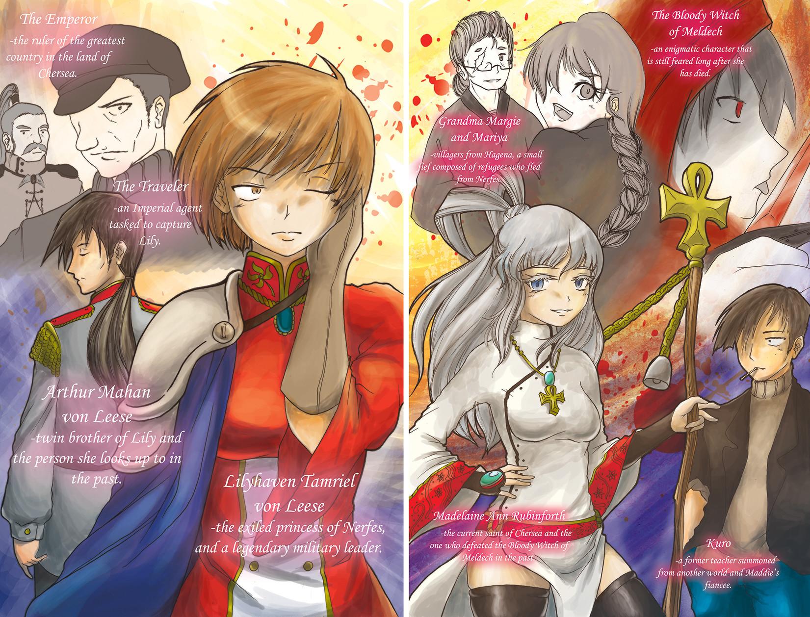 Vol. 3 Character Insert