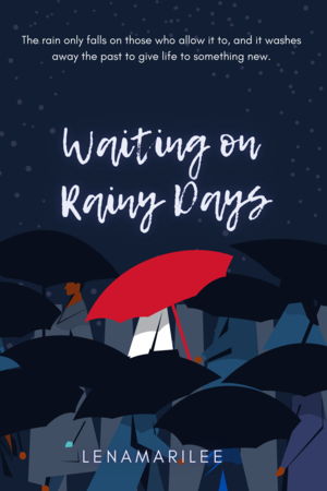 A Girl With A Red Umbrella