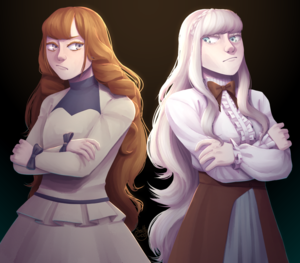 Riselle and Lucia by salt god