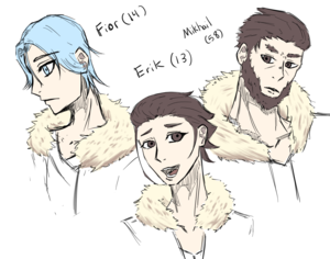 The Deniev Imperial Family