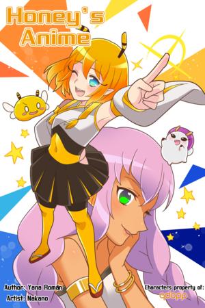 Honey's Anime Web Novel Cover