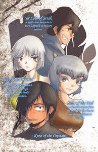 Vol. 8 Character Profile Insert