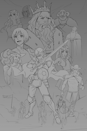 Initial Cover Sketch