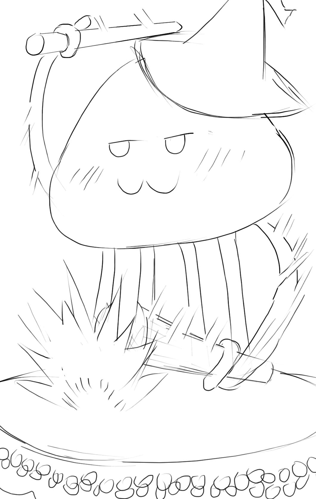 Snazzy playing Taiko