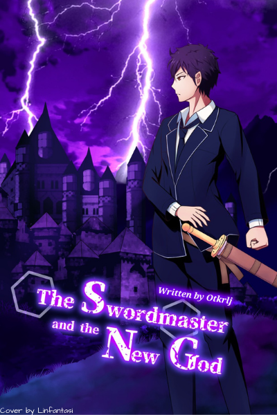 The Swordmaster and the New God final cover