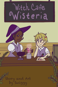 Witch Cafe Wisteria Temporary Cover