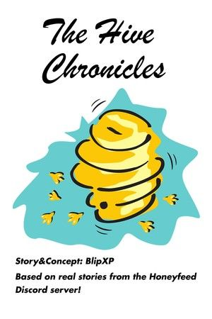 """""""The Hive Chronicles"""" cover art (temp)"""