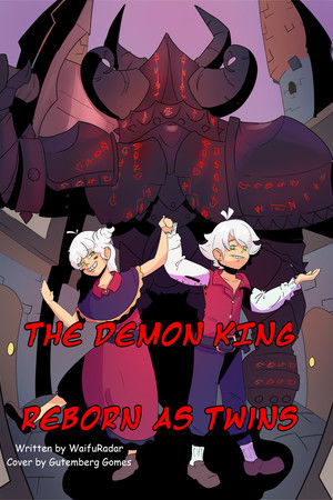 The Demon King Reborn as Twins Cover