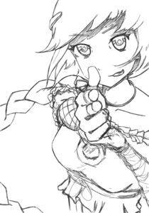 Original sketch of Aystaria