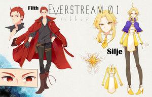 Filth & Silje Character Concepts