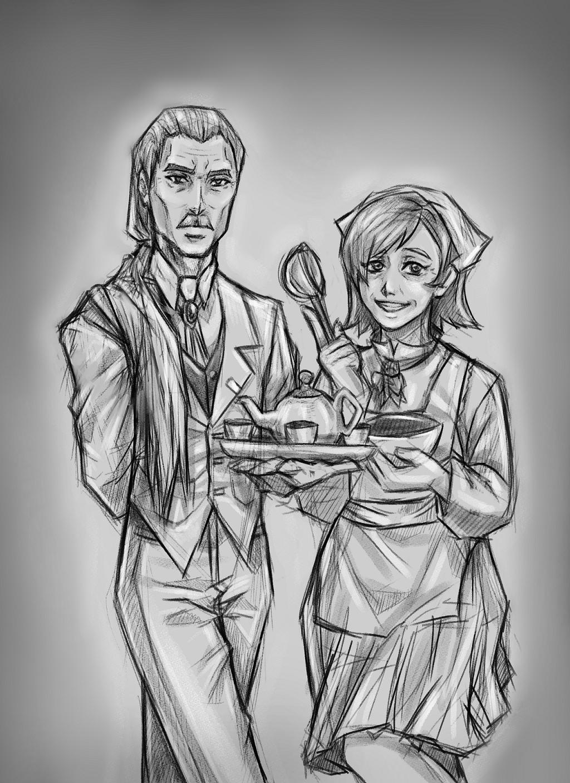 Pietro and Carina