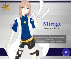 Scarlet Finale! Profile Card: #00 - Mirage
