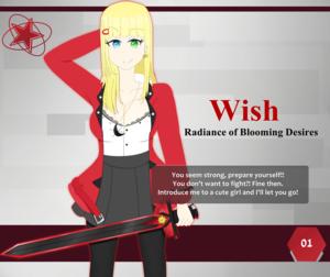 Scarlet Finale! Profile Card: #01 - Wish
