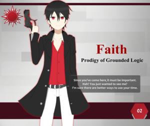 Scarlet Finale! Profile Card: #02 - Faith